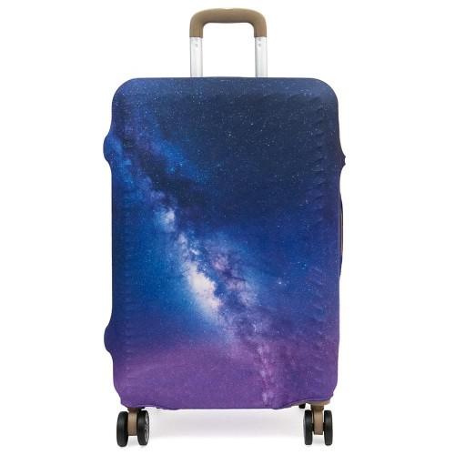 Калъф за куфар протектор ENZO NORI модел GALAXY размер L еластичен текстил
