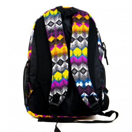 Текстилна раница с отделение за лаптоп или таблет ENZO NORI модел ARK цвят шарен