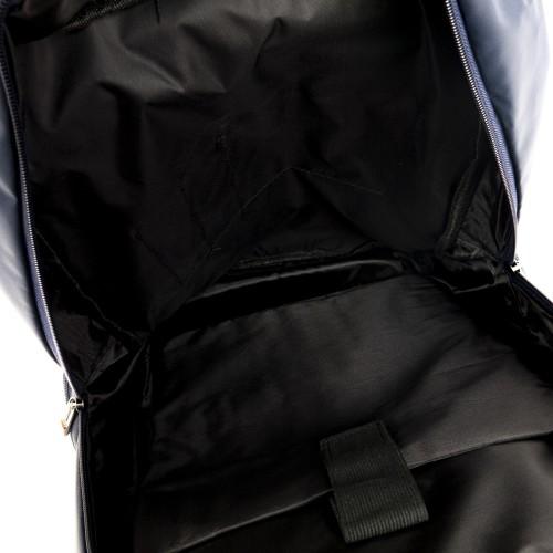 Спортна раница с отделение за лаптоп и меки презрамки ENZO NORI цвят син модел LOCK