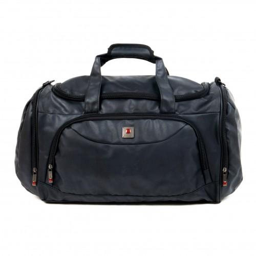 Пътна непромокаема чанта тип сак с дълга подвижна текстилна дръжка ENZO NORI модел CARGO цвят черен