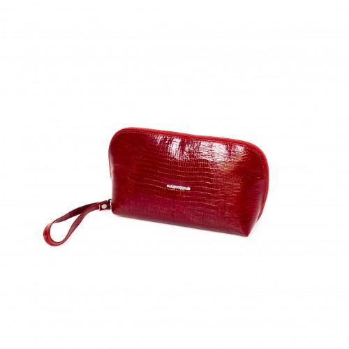 Дамска чанта / козметичка PV 064 червен лак