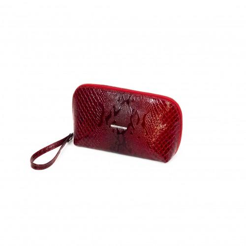 Дамска чанта / козметичка PV 064 червен лазер