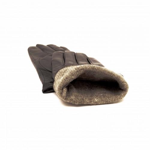 Мъжки ръкавици естествена кожа модел PVG2011.1 черен