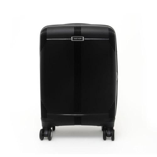 Твърд куфар от полипропилен ENZO NORI модел LONDON 76 см спинер с разширение черен