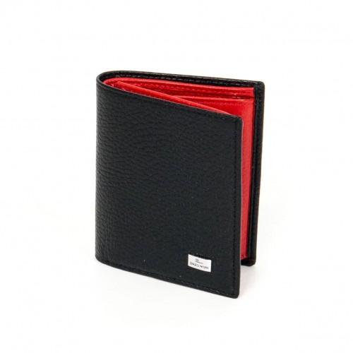 Мъжки портфейл ENP04 черен/червен