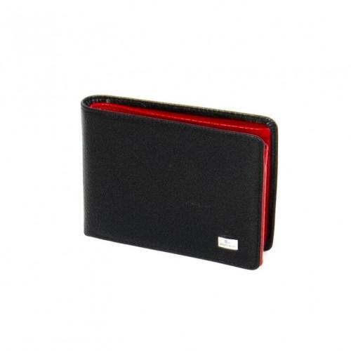 Мъжки портфейл ENP104 черен/червен