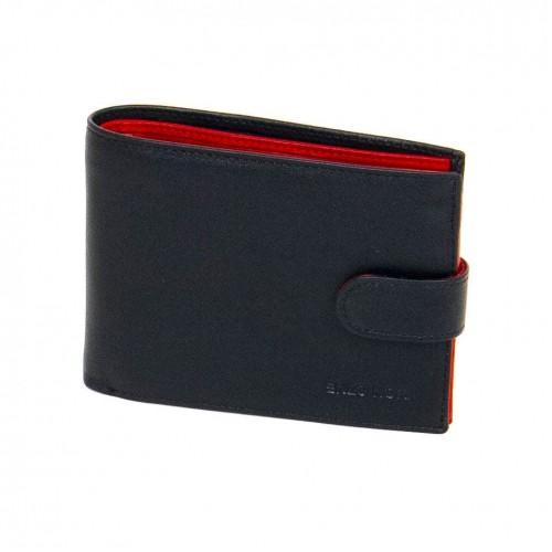 Мъжки портфейл ENP529 черен/червен