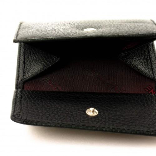 Дамско портмоне от естествена кожа ENZO NORI модел SOS червен