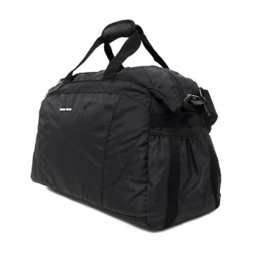 Пътна чанта / спортен сак ENZO NORI модел SEVEN-S с дълга подвижна дръжка цвят черен