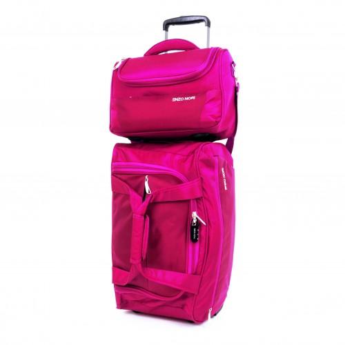 Пътна чанта с колелца ENZO NORI ENS04 розов